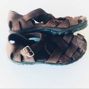 Teva Cross Up leather sandals